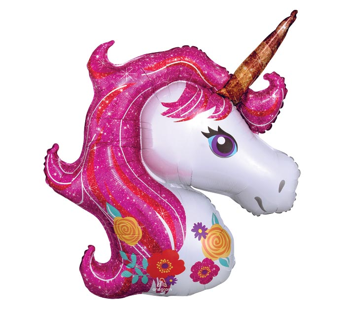 "14""INFLATED MAGICAL UNICORN"