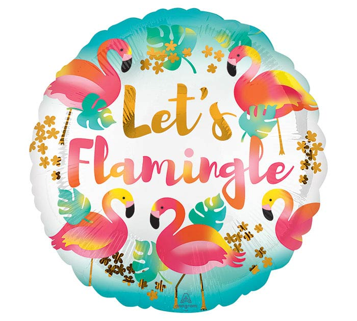 "17""PKG PTY LET'S FLAMINGLE"