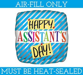 "9"" ASSISTANT'S DAY MUST FILL WITH AIR"