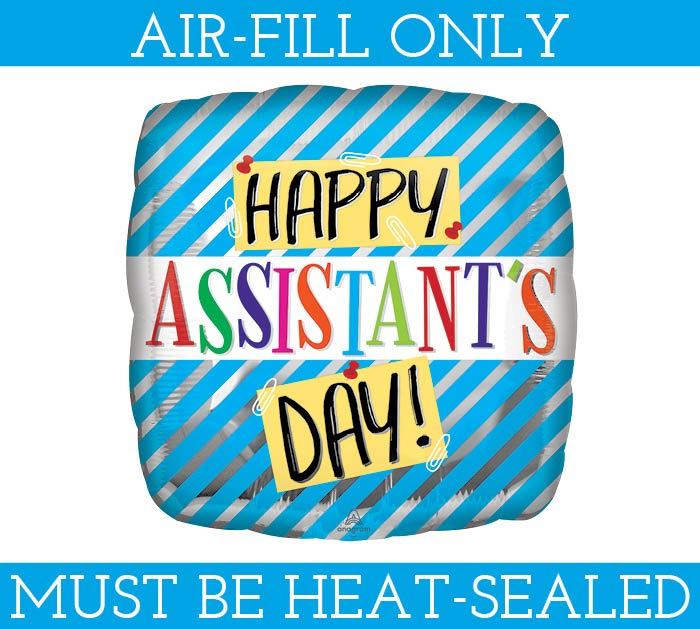 """9"""" ASSISTANT'S DAY MUST FILL WITH AIR"""