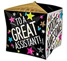 "15""PKG CUBEZ GREAT ASSISTANT STARS"