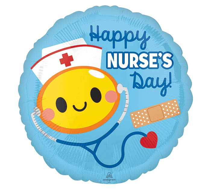 "17"" HAPPY NURSE'S DAY"
