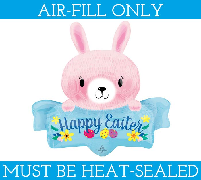 """14""""FLAT PINK EASTER BUNNY"""
