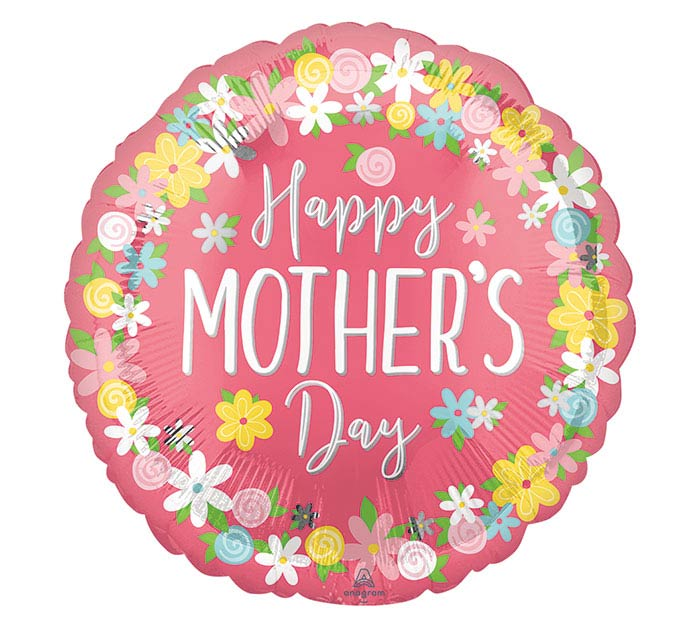 """17""""HMD MOTHER'S DAY WREATH"""
