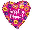"""28""""SPA FELIZ DIA MAMA FLOWERS JUMBO"""