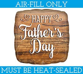 "9""FLAT HFD FATHER'S DAY WOOD SIGN"