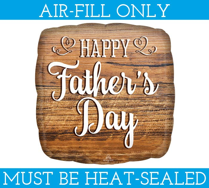 """9""""FLAT HFD FATHER'S DAY WOOD SIGN"""