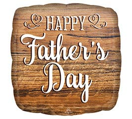 "9""INFLATED HFD FATHER'S DAY WOOD SIGN"