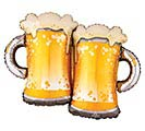 "32""PKG GEN BEER MUGS"