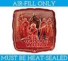 """9""""FLAT CHA STAR WARS THE LAST JEDI 1st Alternate Image"""