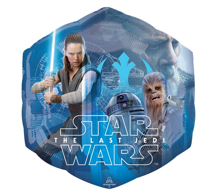 "23""PKG CHA STAR WARS THE LAST JEDI"