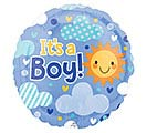 "18""PKG IT'S A BOY CLOUDY SKY"