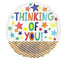 "18""PKG THINKING OF YOU FUN STARS"