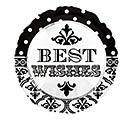 """17""""PKG WEDDING BEST WISHES"""