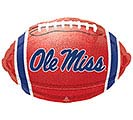 "18"" SPO OLE MISS FOOTBALL SHAPE"