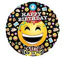 "28""PKG HBD EMOTICON SING A TUNE"