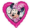 "17""PKG MINNIE HAPPY HELPERS HEART 1st Alternate Image"