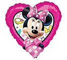 "17""PKG MINNIE HAPPY HELPERS HEART"