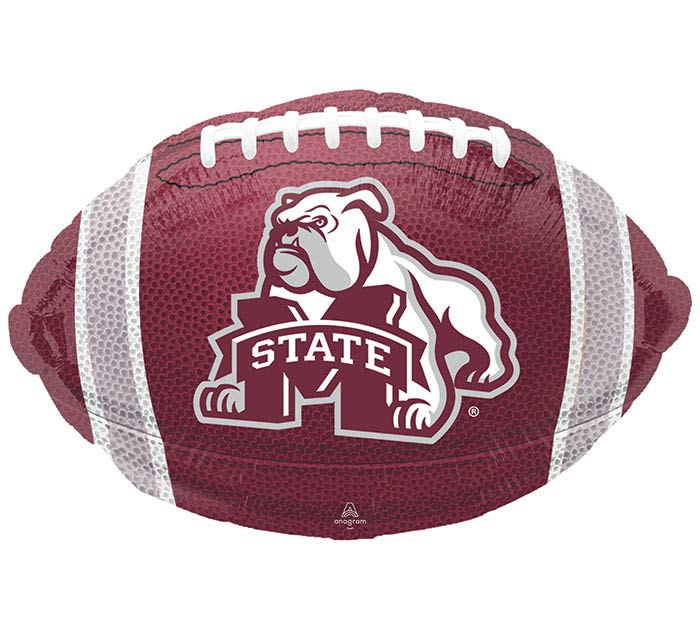 "18"" SPO MISSISSIPPI STATE FOOTBALL SHAPE"