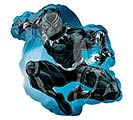 "14""INFLATED MARVEL BLACK PANTHER MINI SH"