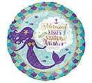 "18""PKG MERMAID WISHES  STARFISH KISSES"