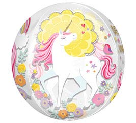 "16""PKG ORBZ MAGICAL UNICORN"