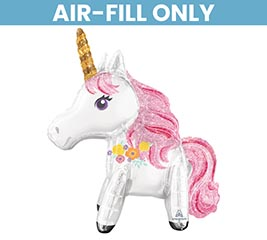 "25""PKG MAGICAL UNICORN MULTI-BALLOON"