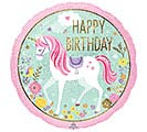 "18""PKG BIRTHDAY MAGICAL UNICORN"