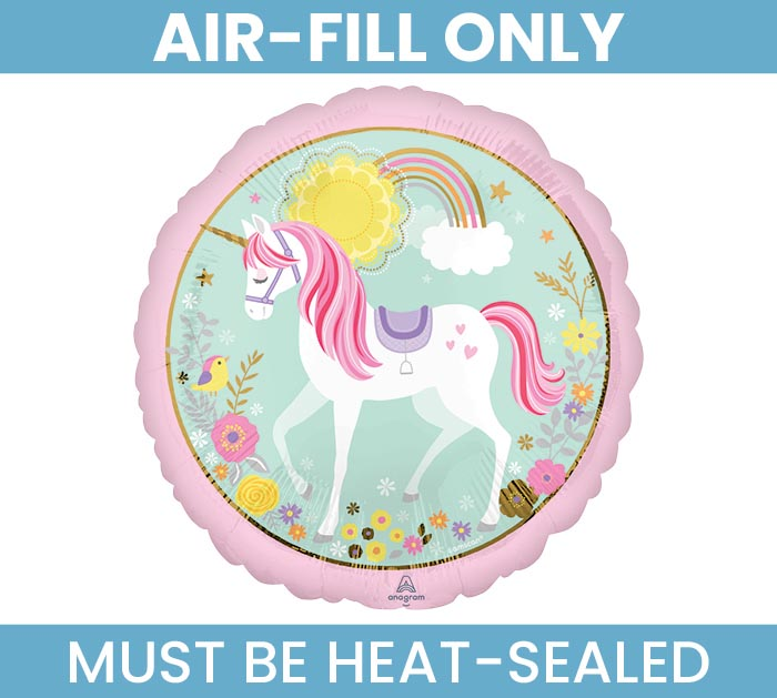 """9""""MAGICAL UNICORN MUST FILL WITH AIR"""