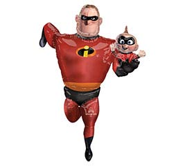 "67""PKG MR INCREDIBLE AIRWALKER"