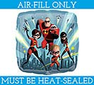 "9""FLAT INCREDIBLES 2 MUST BE AIR FILLED"