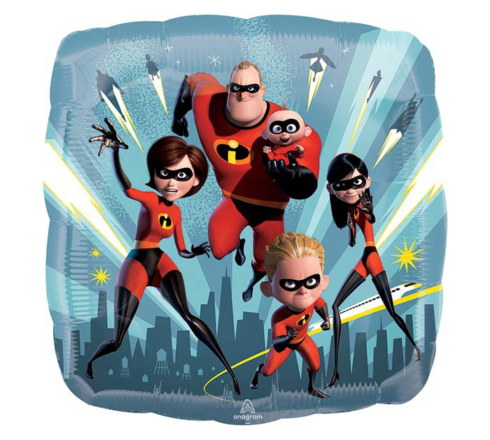 """9""""INFLATED INCREDIBLES 2"""