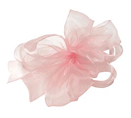 #9 SHEER LIGHT PINK RIBBON