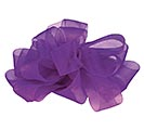 #9 SHEER PURPLE RIBBON
