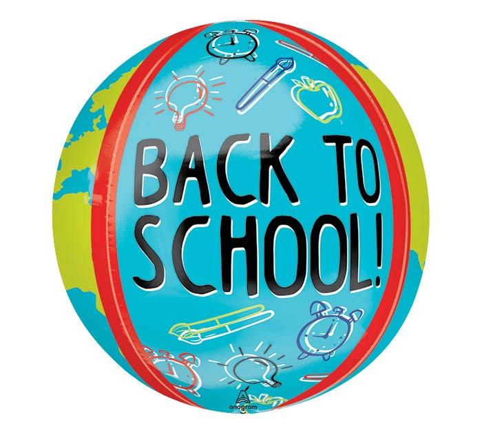 "16""PKG BACK TO SCHOOL ORBZ"
