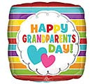 "17"" HAPPY GRANDPARENT'S DAY STRIPES"