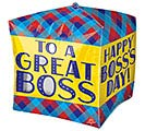 "15""PKG CUBEZ BOSS'S DAY PLAID"
