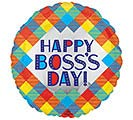"9""INFLATED BOSS'S DAY PLAID"