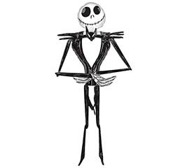 "84""PKG JACK SKELLINGTON AIRWALKER"