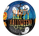 "16""PKG ORBZ HALLOWEEN PUMPKINS  GHOSTS"