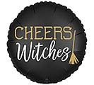 "18"" SATIN CHEERS WITCHES"