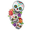 "38""PKG STACKING SUGAR SKULLS"