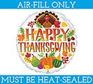 "9""FLAT TURKEY  SEASONAL DECOR"