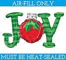 "14""FLAT JOY ORNAMENT MINI SHAPE"
