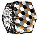 "16""PKG GEOMETRIC NEW YEAR ANGLEZ ULTRASH 1st Alternate Image"