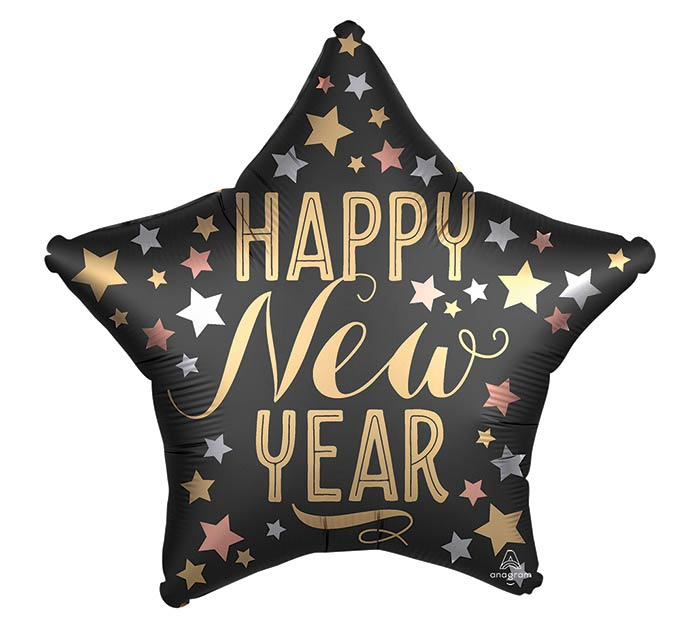 "19"" SATIN NEW YEAR STAR"