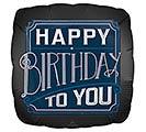 """18""""PKG BIRTHDAY SATIN LUXE BALLOON"""