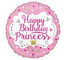 "17""PKG HAPPY BIRTHDAY PRINCESS BALLOON"