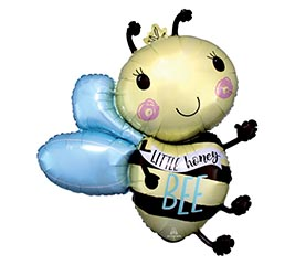 "30""PKG LITTLE HONEY BEE SHAPE BALLOON"