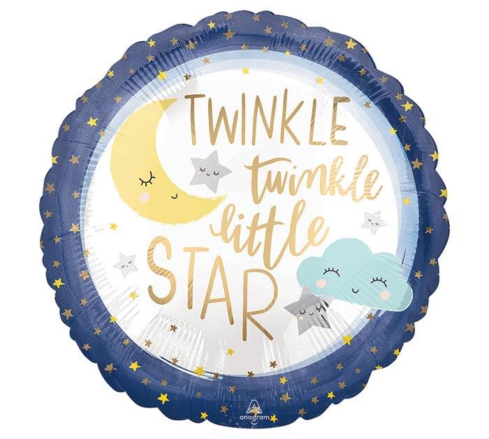 """18""""PKG TWINKLE LITTLE STAR"""